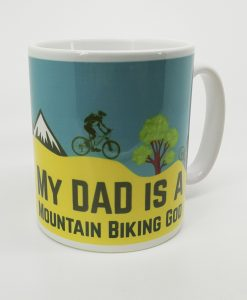 Mountain Biking Personalised Mug