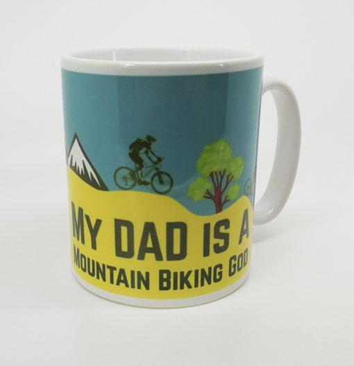 Mountain Biking Personalised Mug