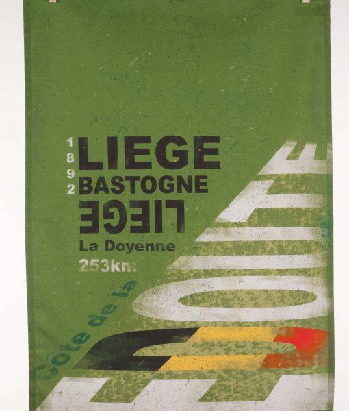 Liege Bastogne Liege Tea Towel