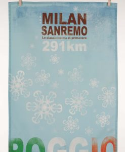Milan San Remo Tea Towel