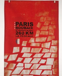 Paris Roubaix Tea Towel