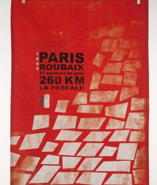 Paris Roubaix Tea Towel