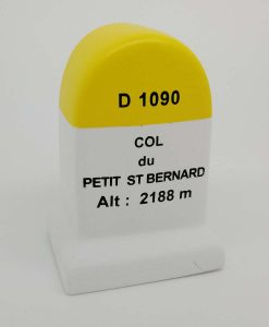 Col de Petit st Bernard Road Marker Model