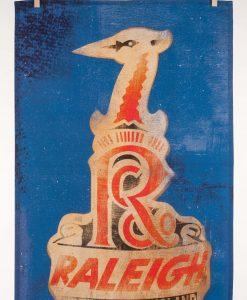 Raleigh Head Badge Tea Towel