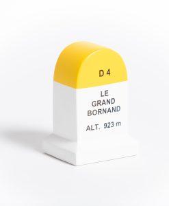 le grand bornand road marker