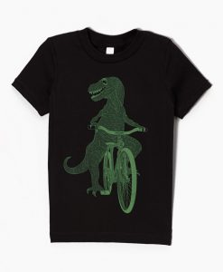 Kids Black Dinosaur t-shirt