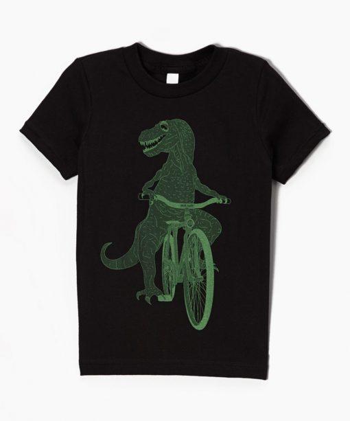 Kids Black Dinosaur t-shirt