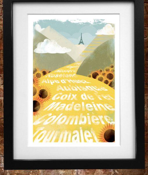 Tour de France 2018 Celebration Print
