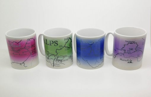 Rustic Cycling Mugs