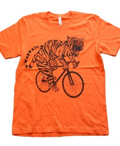 TIGER-MENS-TEE-ORANGE
