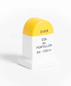 col du portillon road marker model