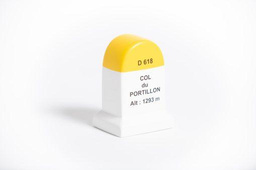col du portillon road marker model