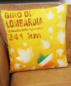Giro di Lombardia Cushion Cover