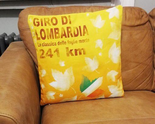 Giro di Lombardia Cushion Cover