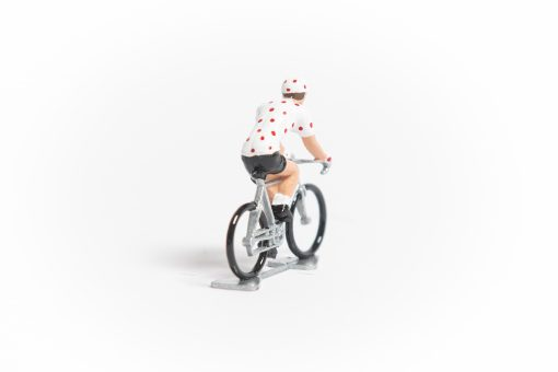 TDF Polka Dot Jersey cycling figure