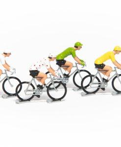 tour de france mini cyclists set