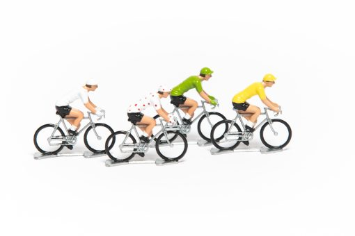 tour de france mini cyclists set