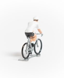 white jersey mini cyclist 2