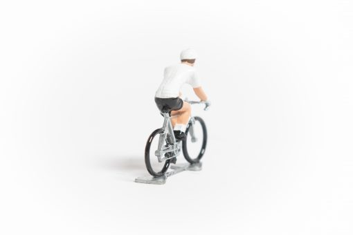 TDF White Jersey cycling figure