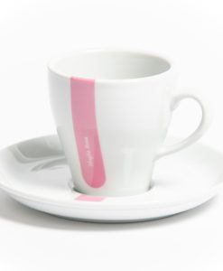 pink jersey cappuccino cup