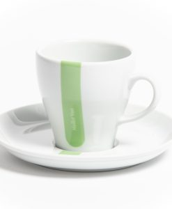 green jersey cappuccino cup