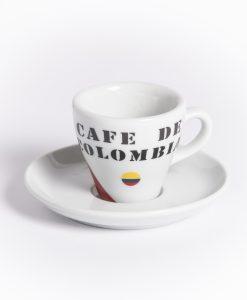 cafe de columbia espresso cup