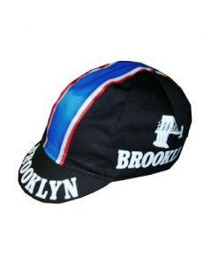 brooklyn black cycling caps