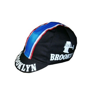 brooklyn black cycling caps