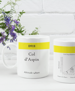 col d'aspin famous climbs mug