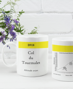 col du tourmalet famous climbs mug