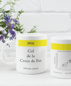 Col de la Croix de Fer famous climbs mug