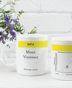 mont ventoux famous climbs mug