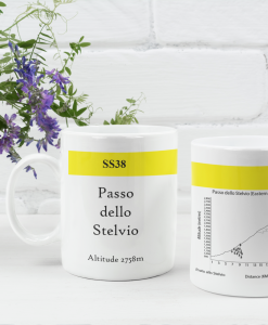 Passo Dello Stelvio famous climbs mug