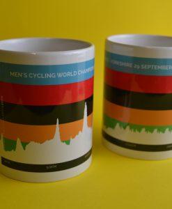 yorkshire worlds route profile mug
