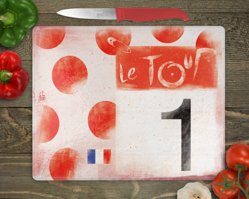 Polka Dot Jersey chopping board