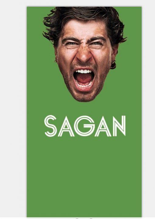 sagan bandana green