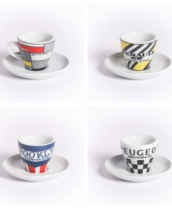 retro teams espresso set