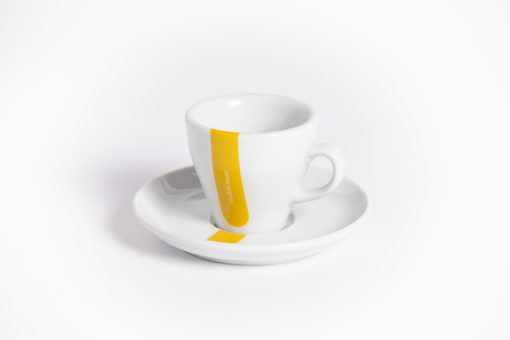 yellow jersey espresso cup