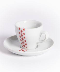 polka dot jersey espresso cup