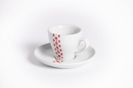 polka dot jersey espresso cup