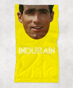 indurain yellow neck gaiter