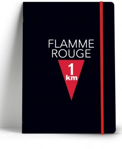 flamme rouge notebook