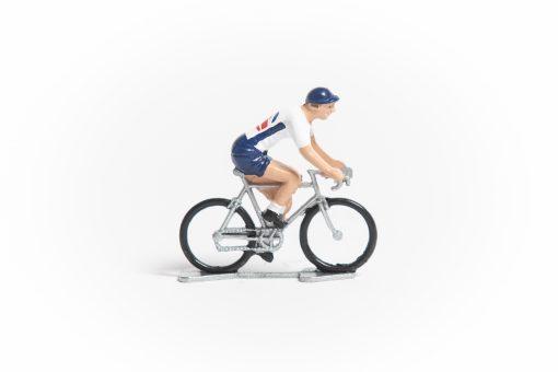 Great Britain mini cyclist figurine