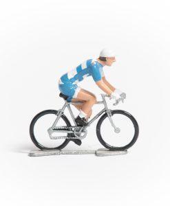 Argentina mini cyclist figurine