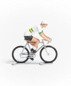 Australia mini cyclist figurine