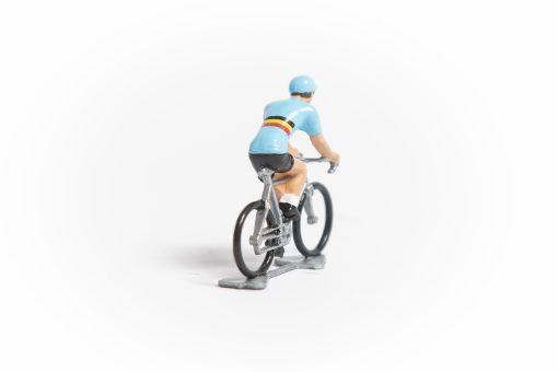 Belgium cycling figure