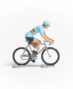Belgium mini cyclist figurine