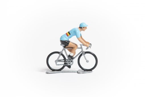 Belgium mini cyclist figurine