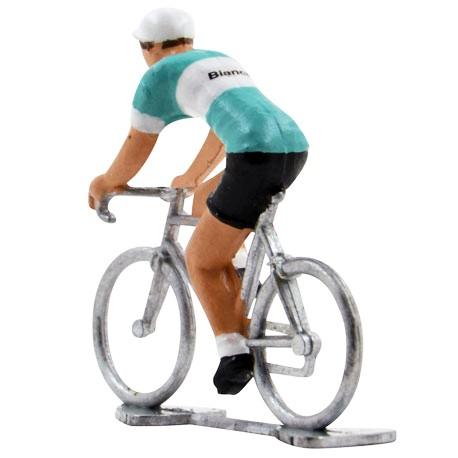 bianchi cycling figurine