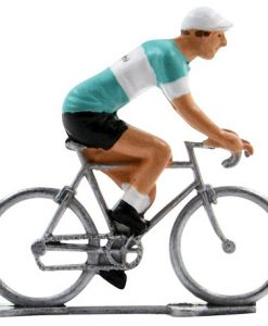 bianchi mini cyclist figure